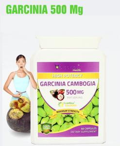 Garcinia 500 Mg Foarte Concentrat - Produs in Anglia