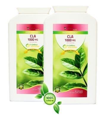 Acid Linoleic Conjugat - Gradina Sanatatii - 1000 Mg - Produs in Anglia