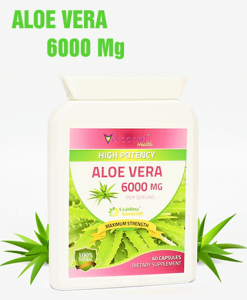 Aloe Vera 6000Mg - Super Concentrat - Produs in Anglia
