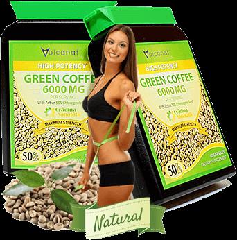 Extract Hyper Concentrat din Boabe de Cafea Verde - 6000Mg per Capsula.fw