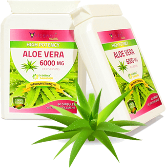 Extract Natural Super Concentrat din Aloe Vera 6000 Mg