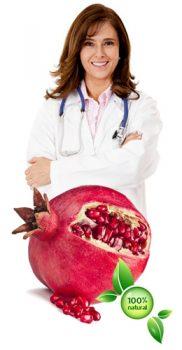 Extract de Rodie - Pomegranate 250 Mg per Capsula Concentratie Mare