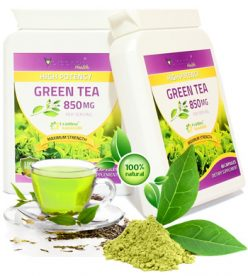 Extract din Ceai Verde - Green Tea - 850 Mg - Produs in Anglia