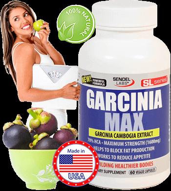 Extract din Fructul Garcinia - Concentratie Mare - Garcinia Cambogia Max din Gradina Sanatatii