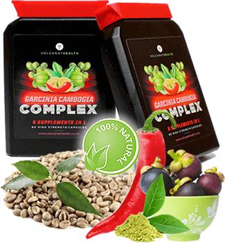 Garcinia Cambogia Complex cu 8 Ingrediente Active - Gradina Sanatatii