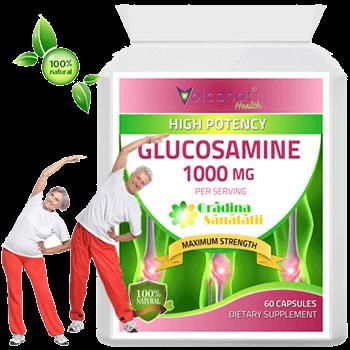 Glucozamina 1000 Mg - Foarte Concentrata din Gradina Sanatatii.fw