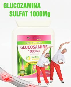 Glucozamina Sulfat 1000Mg - Super Concentrat - Produs in Anglia