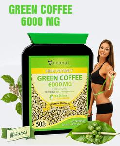 Green Coffee 6000 Mg Foarte Concentrat - Produs in Anglia