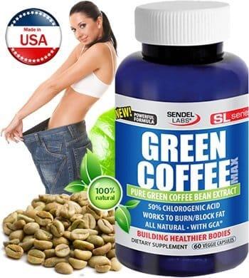 Green Coffee MAX din Gradina Sanatatii - Arzator de Grasimi Natural Produs in America
