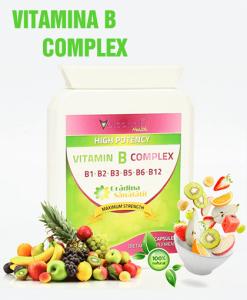 Vitamina B Complex - Super Concentrat - Produs in Anglia