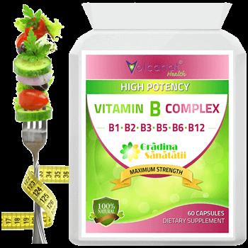 Vitaminele B fortifica Organismul - Produs in Anglia.fw