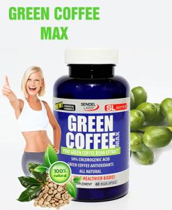 Green Coffee Max 800 Mg Foarte Concentrat - Produs in America