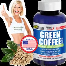 Green Coffee Max contine 800 Mg Extract din Boabe de Cafea Verde per Capsula si 1600 Mg la Doza Zilnica
