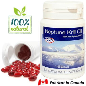 Ulei de Krill - NKO - Fabricat in Canada - Original.fw
