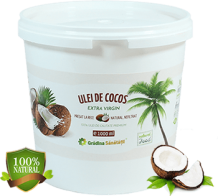 Ulei de Cocos Extra Virgin Presat la Rece - 1000g - Produs in Ungaria.fw