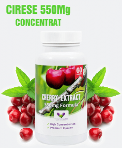Extract de Cirese Montmorency 550Mg - Foarte Concentrat - Produs in Anglia