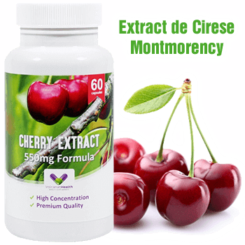 Un Extract Super Concentrat din Cirese Montmorency - Produs in Anglia