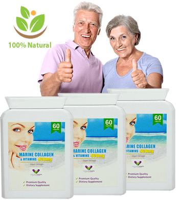 Capsule cu Colagen Concentrat 400Mg din Gradina Sanatatii + Adaos de Vitamine