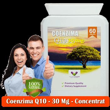 Coenzima Q10 30 Mg din Gradina Sanatatii - Capsule pentru Inima
