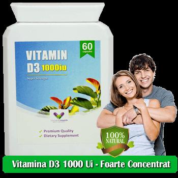 Vitamina D3 1000 Ui - Concentrat - Original - Produs in Anglia