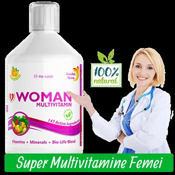 Complex de Multivitamine Lichide pentru Femei cu 147 Ingrediente Active Super Concentrate