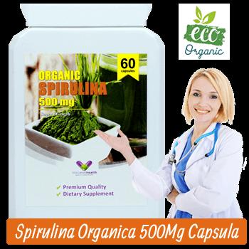 Spirulina Organica Super Concentrata din Gradina Sanatatii - Capsule