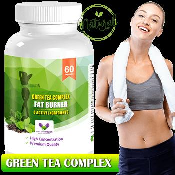 Formula Unica de Ingrediente cu Efect de Accelerare al Metabolismului pe Baza de Ceai Verde, Guarana, Cafea Verde