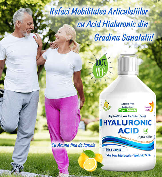 Acid Hialuronic pentru Articulatii Sanatoase